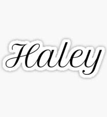 Haley Sticker