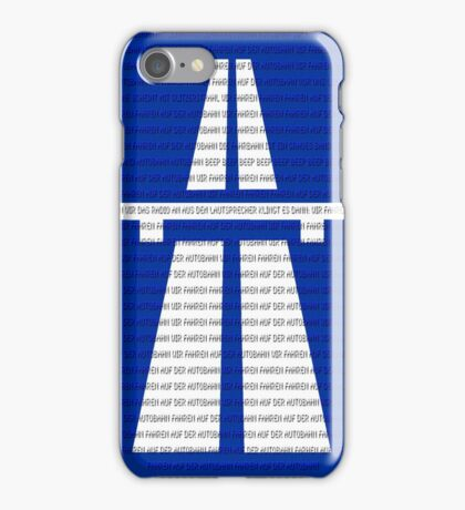 Autobahn iPhone Case/Skin