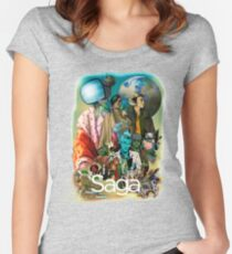 Saga comic Characters geek Women's Fitted Scoop T-Shirt