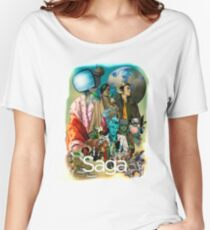 Saga comic Characters geek Women's Relaxed Fit T-Shirt