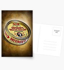 Super Wax Postcards