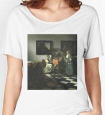 Stolen Art - The Concert by Johannes Vermeer Women's Relaxed Fit T-Shirt