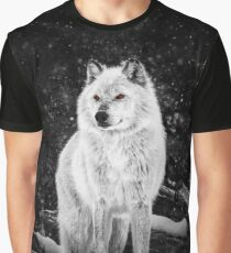 Wolf Amber Eyes Graphic T-Shirt