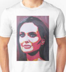 Portrait  of a tough woman Unisex T-Shirt