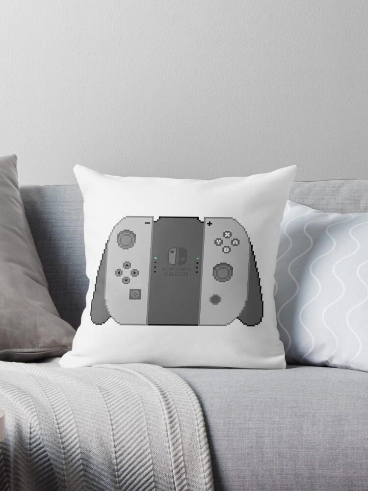 Quot Nintendo Switch Pixel Art Quot Throw Pillows By