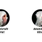 Saruskranich gegen Atomkraft by Thomas F. Gehrke