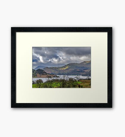 Ullswater Lake District Framed Print