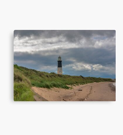 Spurn Point Lighthouse Canvas Print