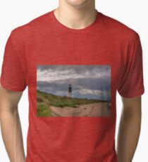 Spurn Point Lighthouse Tri-blend T-Shirt