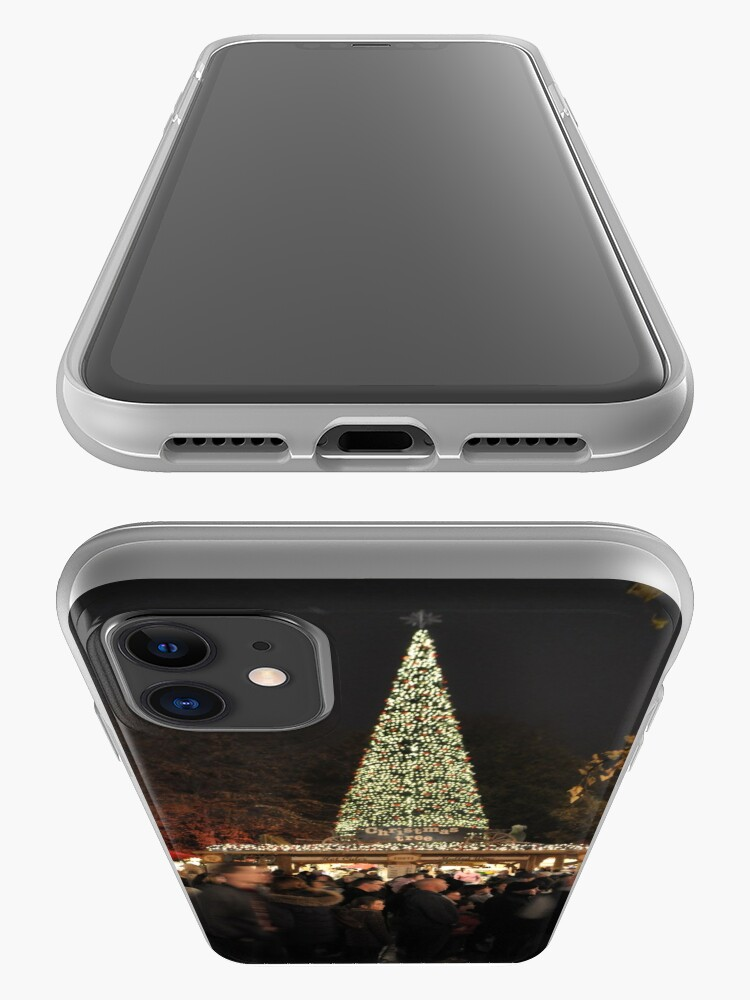 Alternate view of Christmas in town iPhone Case & Cover