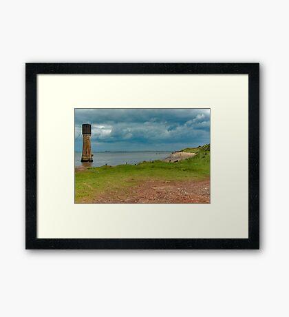 Spurn Point Framed Print
