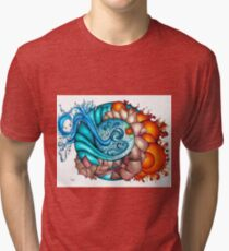 earth, wind, water and fire Tri-blend T-Shirt