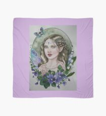 Violet lily of the valley fairy faerie Scarf