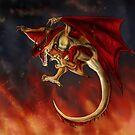 Red Wyvern by Furiarossa