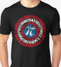 Captain Pi Funny Pi Day 2017 Superhero Style for Math Geeks and Nerds Unisex T-Shirt