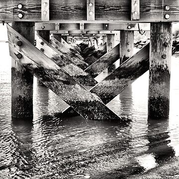 Under The Pier by amandavontobel
