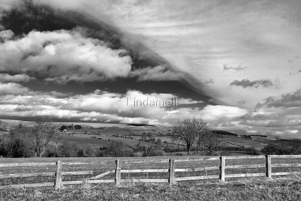 A View in Swaledale by Lindamell