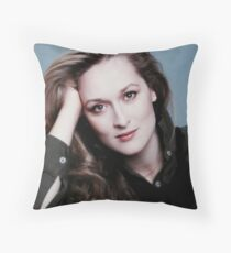 HIGH PRIESTESS MERYL STREEP  Throw Pillow