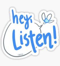 A kind reminder from Navi Sticker