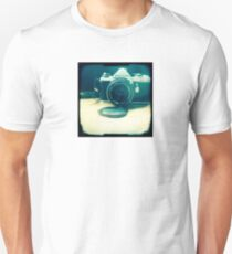 Old friend - vintage Pentax camera T-Shirt
