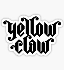 Yellow Claw Sticker
