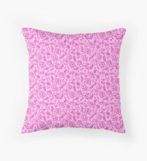 Never too much floral! Throw Pillow