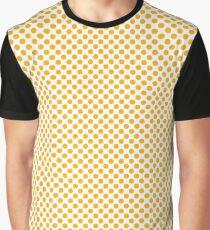 Gold Fusion Polka Dots Graphic T-Shirt