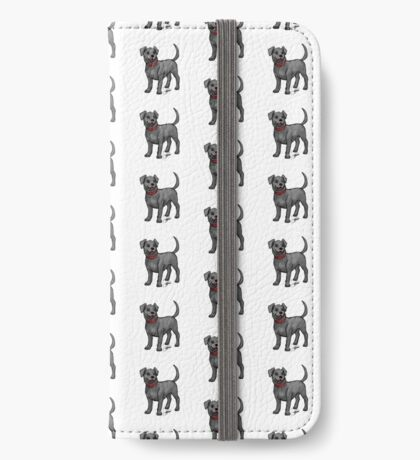 Black Lab iPhone Wallet