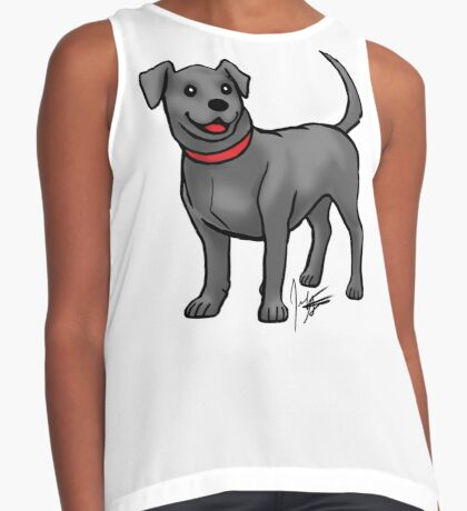 Black Lab Contrast Tank
