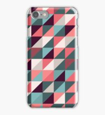 Triangles background iPhone Case/Skin