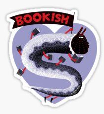 Bookish Dragon Sticker