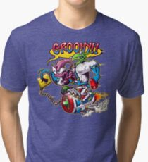 Groovy Fink Tri-blend T-Shirt