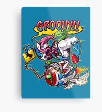 Groovy Fink Metal Print