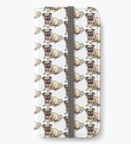 Pugs iPhone Wallet
