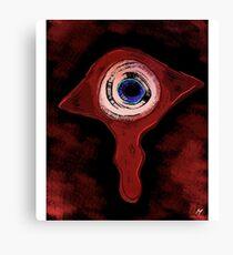 Bloody Eye Canvas Print