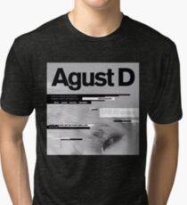 AGUST D ALBUM ART Tri-blend T-Shirt