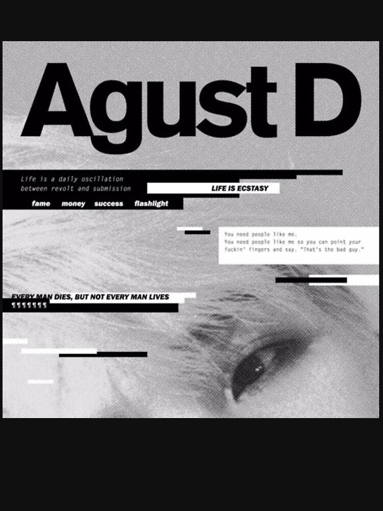 AGUST D ALBUM ART by ZainabR