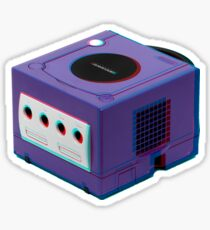 3D GAMECUBE STICKER Sticker