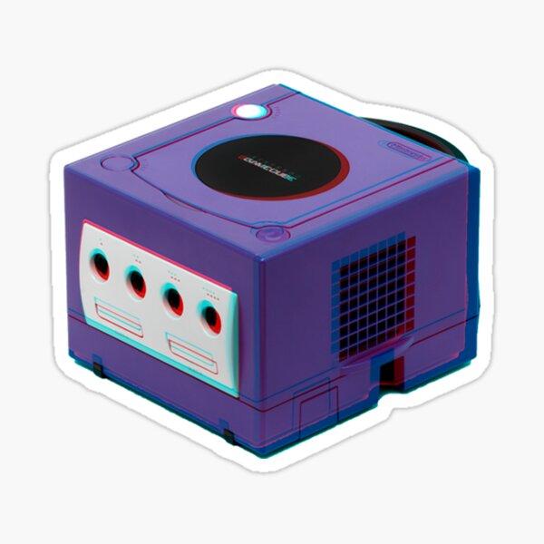 3D GAMECUBE STICKER Sticker