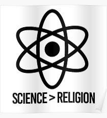 Science vs Religion: Posters | Redbubble
