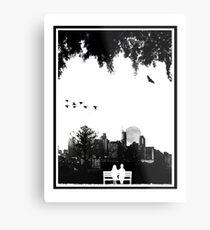 Dornoch Terrace Moonrise Metal Print