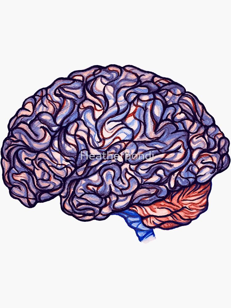 Brain Storming - Violette by Heatherbondi