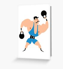 Athlete Greeting Card