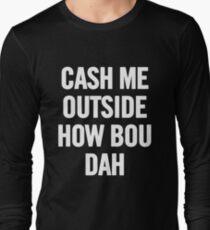 Cash Me Outside (White) T-Shirt iPhone Case T-Shirt