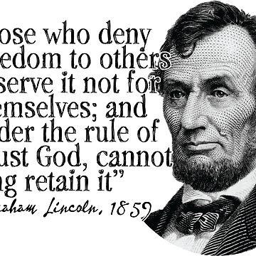 Abraham Lincoln by HaemishBew