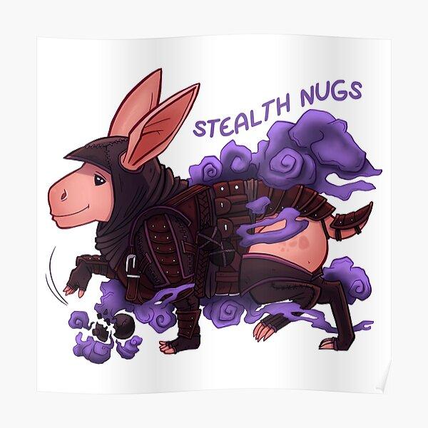 Nug Hugs - Stealth Nugs! Poster