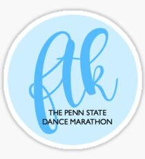 FTK Bubble FR Blue Sticker
