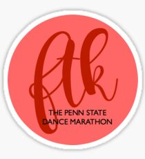 FTK Bubble R&Red Sticker