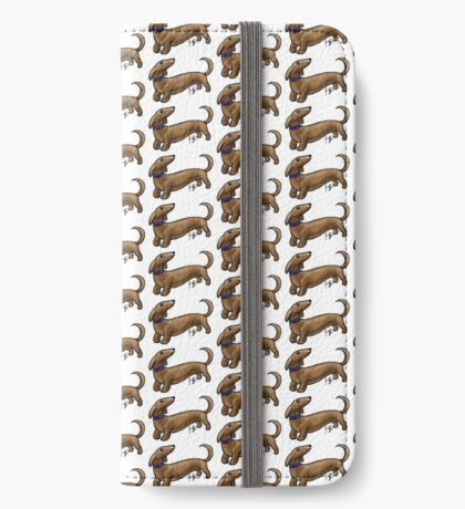 Dachshund iPhone Wallet