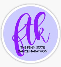 FTK Bubble PuRple Sticker